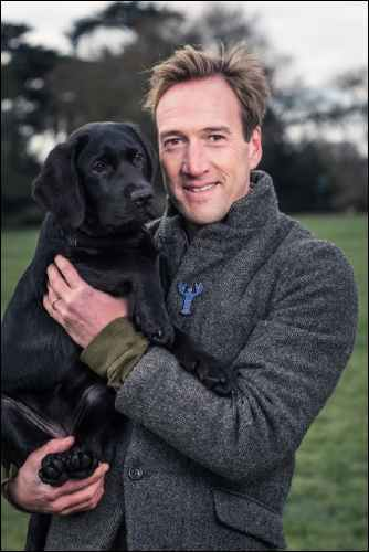 Wimbledon BookFest Ben Fogle and Storm