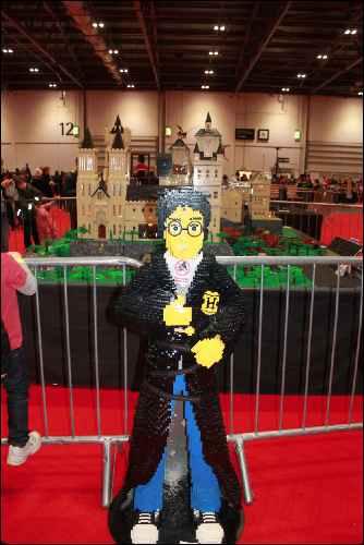 lego show brick harry potter castle