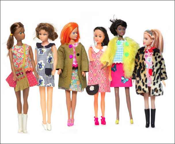 Barbie clothes collections