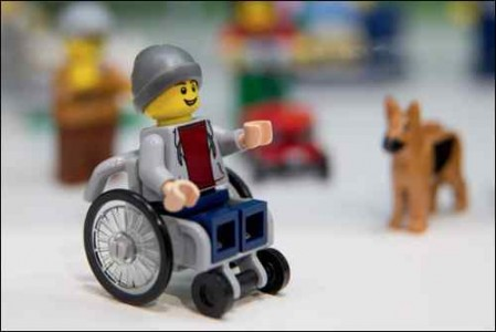 PG20-21 TOY TRENDS Disability in toys images Lego disabled mini figure