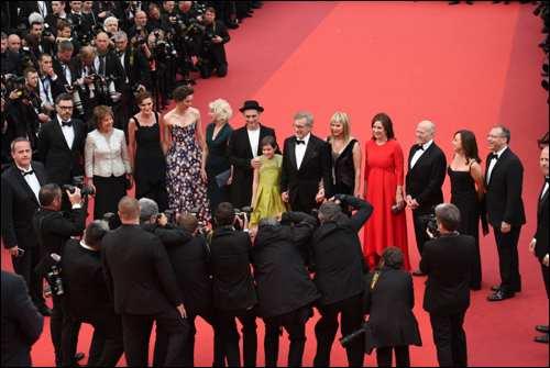 The BFG film steven spielberg roald dahl cannes film festival red carpet