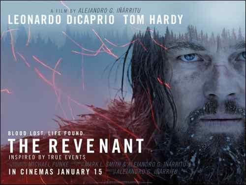 The Revenant poster Launch-Quad