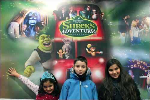 Shrek adventure london kids family fun