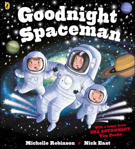 book Goodnight Spaceman Jacket Cover