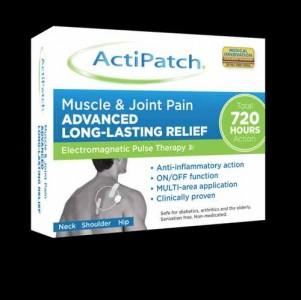 natural pain relief ActiPatch Muscle & Joint Box 3D