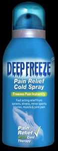natural pain relief DF Spray