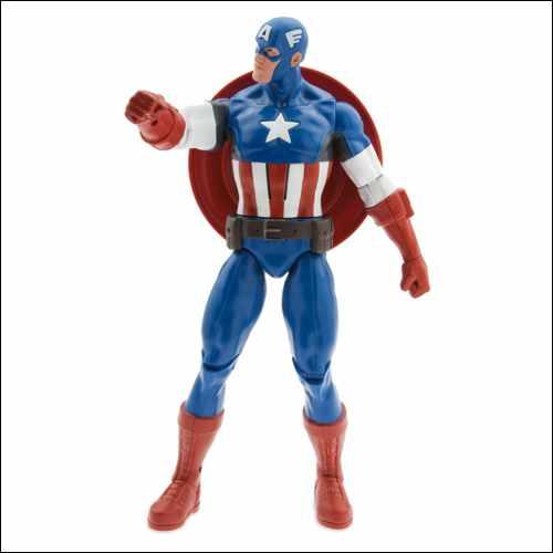 Captain America Talking Action Figure