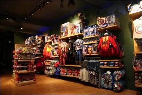 Disney Store Captain America Civil War