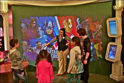London Mums kids club Marvel challenge disney