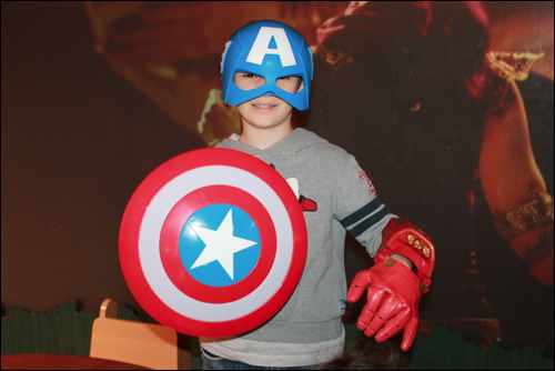 Marvel Team Challenge diego captain america disney store