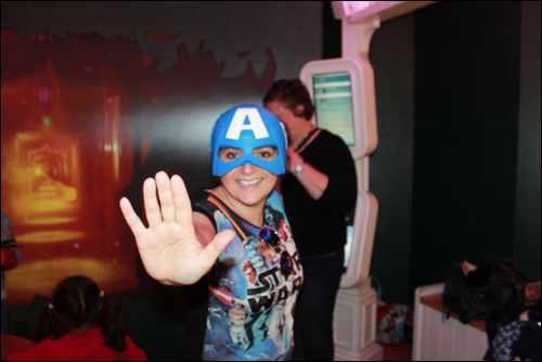Marvel Team Challenge monica captain america