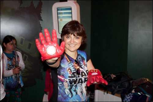 Marvel Team Challenge monica iron man