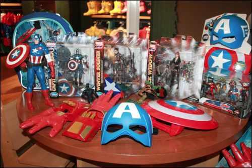 Marvel Team Challenge products 2