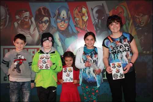 Marvel Team Challenge rewards teams