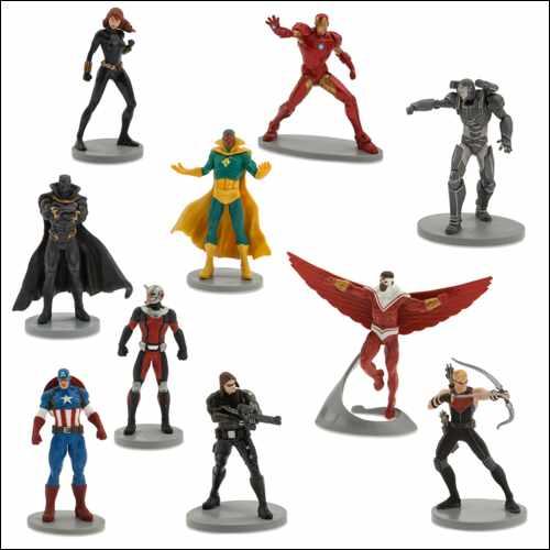 marvel Deluxe Figurine Playset