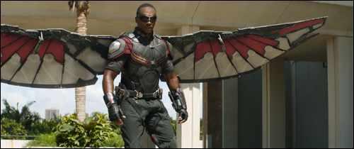 marvel stars falcon captain america