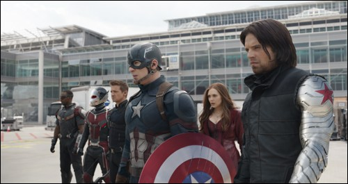 team captain america avengers marvel stars