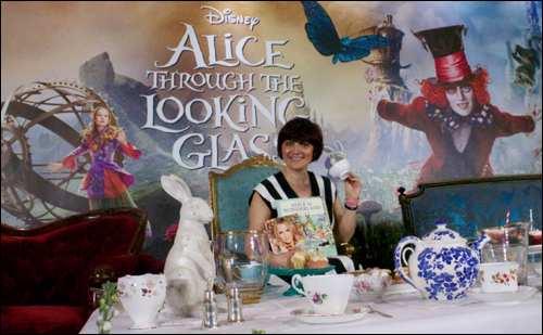 Monica Alice in Wonderland