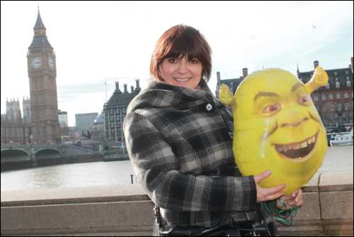 Shrek Adventure London Mums magazine monica baloon