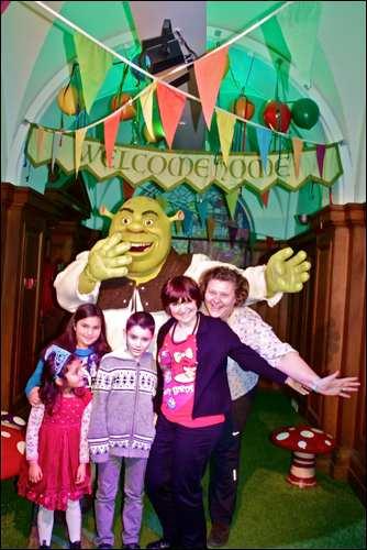 Shrek Adventure London Mums magazine monica group