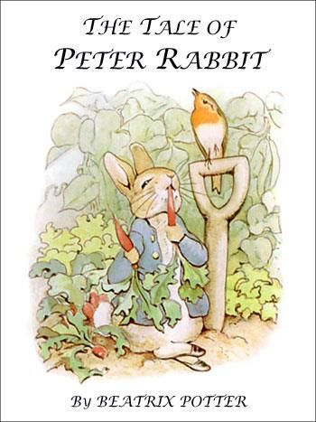 Ten Most Iconic Children's Book Covers tale of peter rabbit