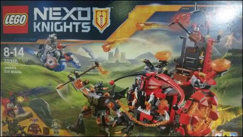 Kids Club Amelie & Frankie review Lego Nexo Knights sets at Legoland 2