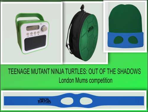 TEENAGE MUTANT NINJA TURTLES- OUT OF THE SHADOWS competition collage
