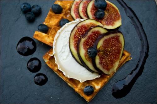 dessert health figs Waffle On_Goats