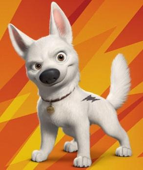 dogs in films bolt