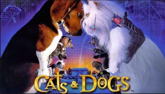 dogs in films cats and dogs