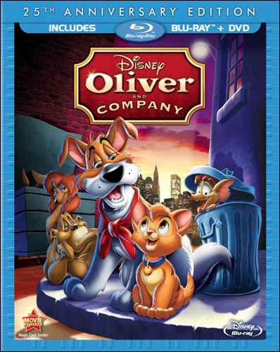 dogs in films oliver and company
