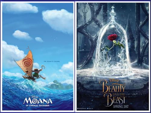 Disney movie releases announced for 2016 to 2018 collage