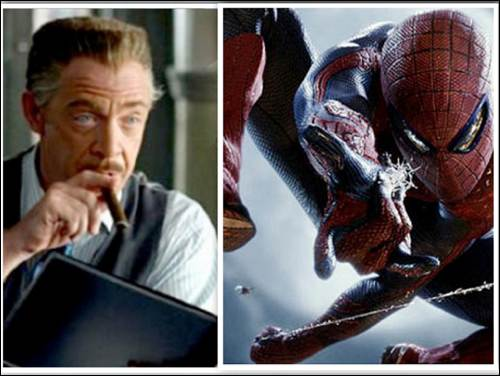 JK Simmons spiderman collage