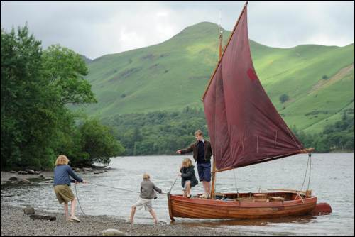 Swallows and Amazons film Boat