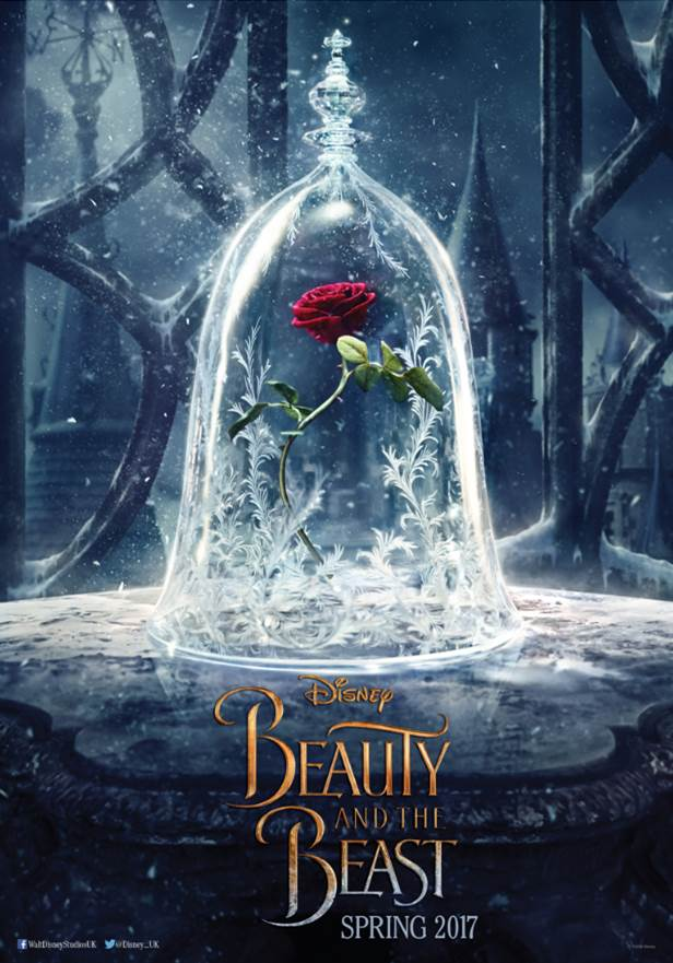 beauty and the beast disney movie teaser poster