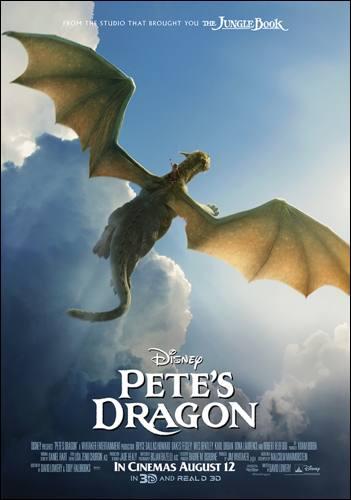 petes dragon disney poster london mums magazine
