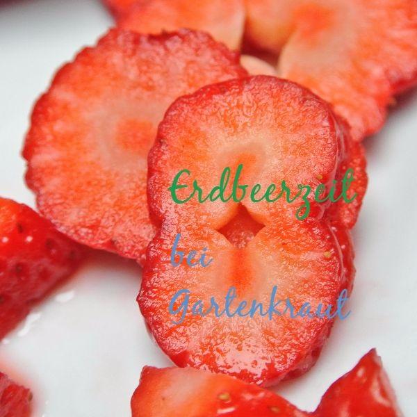 strawberry recipe Erdbeere