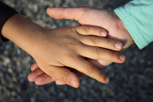 helping hands ask for help parenting