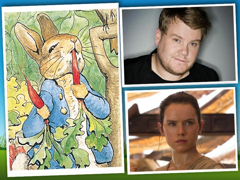 james-corden-peter-rabbit-daisy-ridley-london-mums-magazine-collage