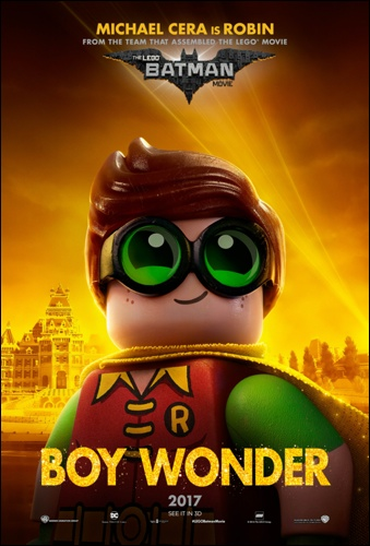 Lego Batman merchandising Robin