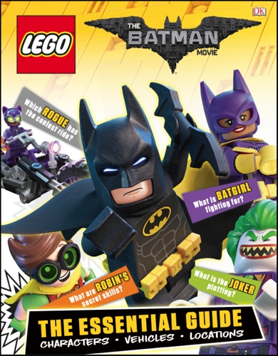 LEGO Batman Movie ultimate character book DK