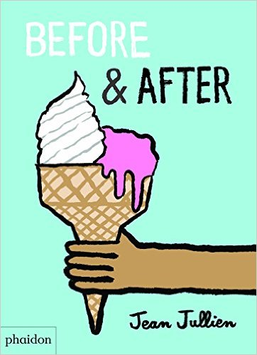 book before & after cover