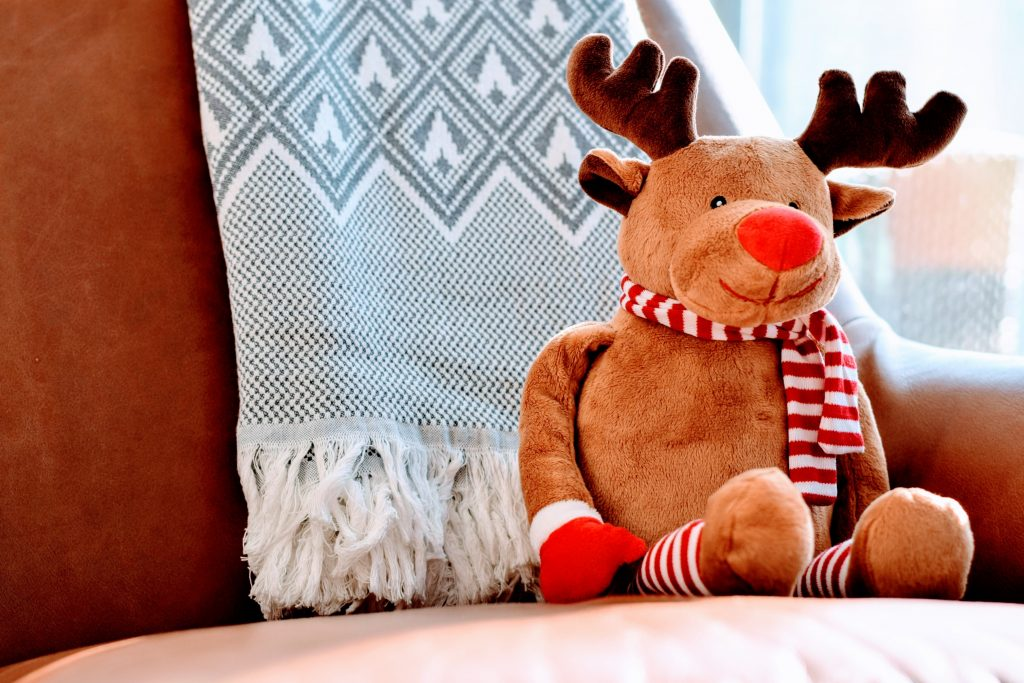 Reindeer toy christmas
