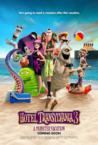 Future #Films Heads Up: Hotel Transylvania 3 out in July 2018 #HotelT3