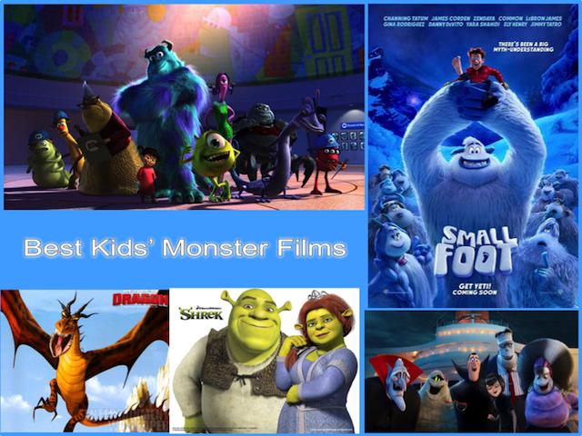 Best Kids' Monster Films - London Mums Magazine