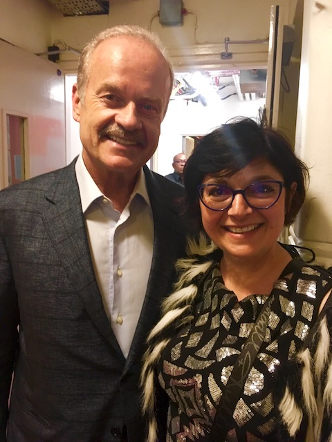 Kelsey Grammer and monica costa