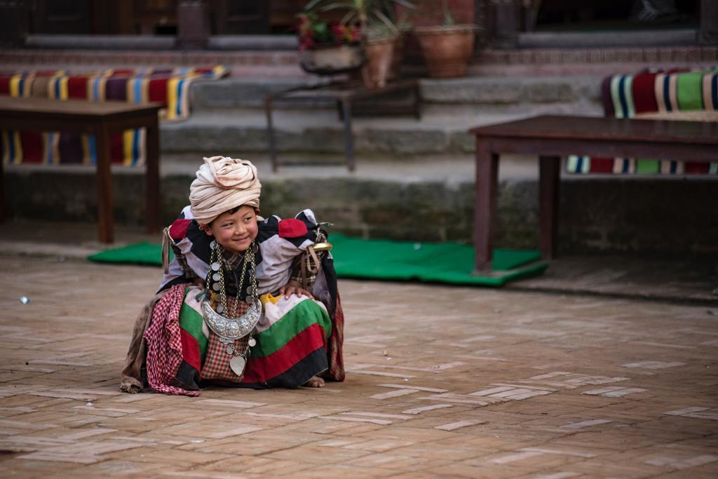 Nepal child travel