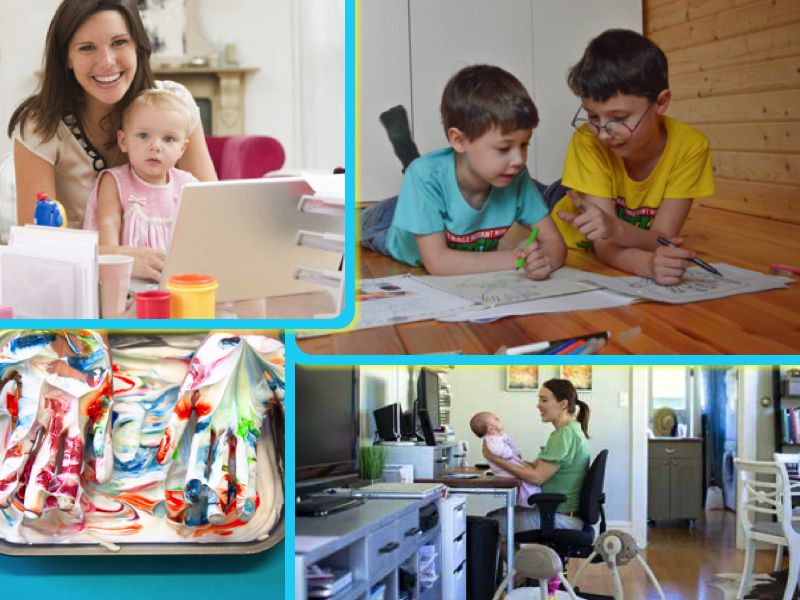 Homeschooling & Working advice by the experts #homeschooling