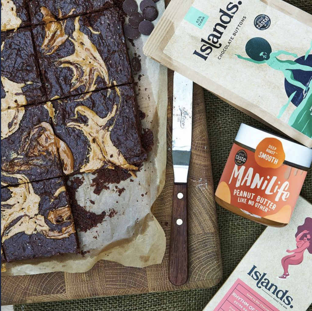 Recipe: Peanut butter & chocolate brownies